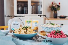 Vyber si z našich zdravších nápadov na veľkonočný šalát Table Decorations, Dinner Table Decorations