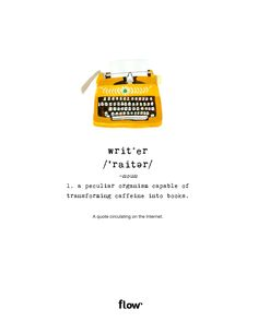 Funny definition of writer. Bullet Journal Inspiration, Life Inspiration, Frankie Magazine, Funny Definition, Magazine Illustration, Mellow Yellow, Words Quotes, Positive Quotes, Funny Quotes