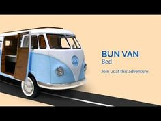 Bun Van is a unique kids bed inspired by the iconic 60's camper van, perfect to bring a total experience of fun and play to the children's rooms. More CIRCU.NET