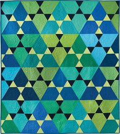 Kona Cotton from Robert Kaufman Fabrics is 30 years old this year, and they asked 30 designers to create 30 quilts to celebrate the occasion. Today is my day on the 30 Quilts for 30 Years Blog Hop. I'