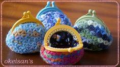 Free Crochet, Knit Crochet, Crochet Hats, Crochet Coin Purse, Crochet Earrings, Purse Patterns, Crochet Patterns, Yarn Crafts, Diy And Crafts