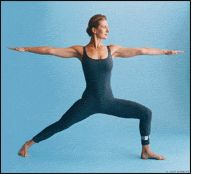 Yoga! A basic and popular yoga pose, the Warrior II Pose efficiently stretches and strengthens the leg muscles. Learn how to safely perform it.