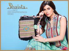 Shaista Cloth Eid Collection 2014: New Eid Arrivals