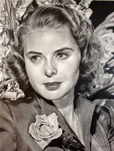 Ingrid Bergman-Golden Era 2 by ~Hongmin on deviantART
