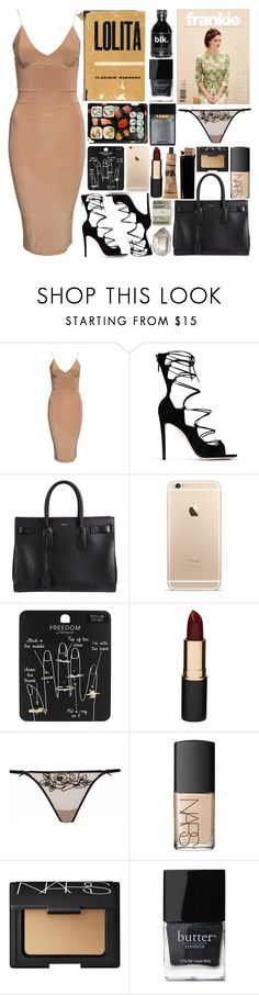"""""""Voodoo // Frank Ocean"""" by emotionlxss on Polyvore featuring Gianvito Rossi, Yves Saint Laurent, Topshop, Mimco, Agent Provocateur, Jura, Jack Spade, NARS Cosmetics, GAS Jeans and Butter London"""