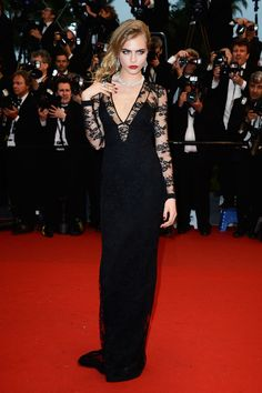 The Best of the Cannes Film Festival Red Carpet, from Madonna's Silk Bra to Charlize Theron's Dior Gown Photos | W Magazine