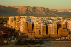 Shibam - The Manhattan of the Desert