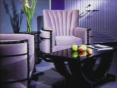 Art Deco Purple.