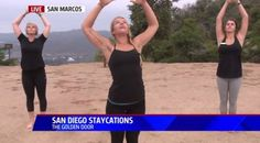 Golden Door | FOX5 San Diego –Yoga on the Mountain!
