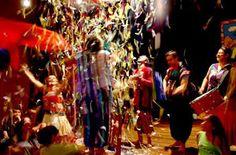 Cena do espetáculo infantil As 4 Chaves, do Teatro Ventoforte, que comemora 40 anos com várias montagens no Parque da Água Branca. A entrada é grátis (Foto: Reprodução)