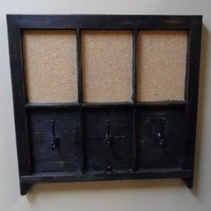 Creative Ways To Repurpose Old Windows [Hooks and Message Center.]