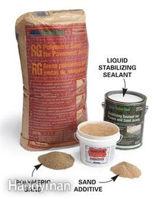Apply a stabilizing sealant - to keep stones/pavers in place instead of using mortar or poly sand.