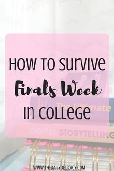 How To Survive Finals Week In College // follow us @motivation2study for daily inspiration