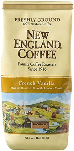New England Coffee French Vanilla, 11 Ounce #England #Coffee #French #Vanilla, #Ounce