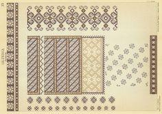 Embroidery Patterns, Cross Stitch Patterns, Macrame, Costume, Album, Traditional, Border Tiles, Needlepoint, Needlepoint Patterns