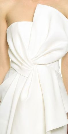 J. Mendel Draped Bustier Gown | SHOPBOP