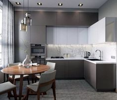 Outstanding kitchen style are readily available on our site. Check it out and you wont be sorry you did. Luxury Kitchen Design, Kitchen Room Design, Kitchen Cabinet Design, Home Decor Kitchen, Kitchen Living, Interior Design Kitchen, Kitchen Furniture, Home Kitchens, Kitchen Ideas