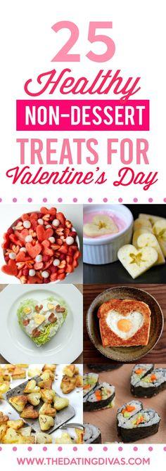Non-Dessert Healthy Treats for Valentine's Day