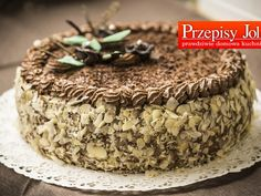 tort jerzego polomskiego Polish Desserts, Polish Recipes, Polish Food, Sweet Recipes, Cake Recipes, My Favorite Food, Favorite Recipes, Whats For Lunch, Romanian Food