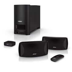 Bose® CineMate® Series II Digital Home Theater Speaker System A 2.1-channel home theater speaker system with redesigned Articulated Array® speakers and improved digital acoustic performance