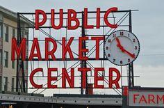 Seattle Public Market - I've been here!