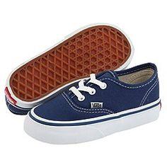 e226937ad7 Vans Kids Authentic Core (Infant Toddler) Vans Authentic Navy