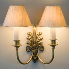 Brass Feather Wall Light Made By Jim Lawrence