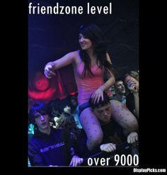 aww :/. the friend zone.