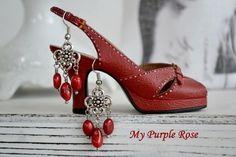 Chandeliers, Ohrhänger, Ohrringe von My Purple Rose auf DaWanda.com