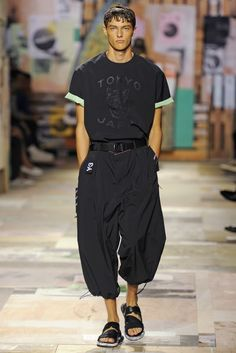 Y-3 Men's RTW Spring 2015 - Slideshow