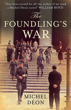 Jon Gray's cover for The Foundling's War, sequel to The Foundling Boy