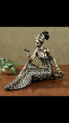 Metal Artwork, Doll Crafts, Clay Art, Afro, Macrame, Sculptures, Arts And Crafts, Create, Plaster Crafts