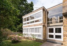 1950s modernism: Stirling & Gowan-designed apartment in Langham House Close, Richmond, Surrey