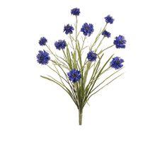 Cornflower Bush in Royal Blue | Silk Bushes | Afloral.com