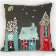 Try this with patterned wool scraps