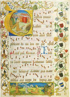 Antiphonal of Elisabeth von Gemmingen [Speyer, c.1504]
