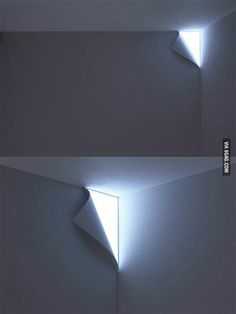 A light in the corner