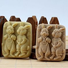 Rabbit-Craft-Soap-Molds-Silicone-Candle-Molds-Soap-Making-Molds-Resin-Wax-Mould