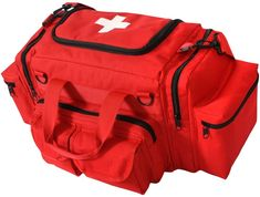 Red Tactical Red EMT First Aid Emergency Medical Bag Concealed Carry Bag 2659 Emergency Medical Kit, Emergency Preparedness Kit, Medical Bag, Emt Bag, Concealed Carry Bags, Tactical Bag, First Aid Kit, Red Cross, Outdoor Outfit