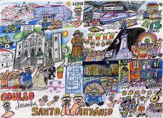 De leukste feesten van Lissabon / The best parties of Lisbon - via @saudadespt 01.06.2015   Het is juni! En ik mag hopen dat je je vliegtickets voor Lissabon klaar hebt liggen! Want deze hele maand staat in het teken van de Festas de Lisboa en er is geen beter moment om naar de Portugese hoofdstad af te reizen dan tijdens deze festiviteiten. Ik heb 37 pagina's aan programma voor je doorgeworsteld om je de leukste of meest bijzondere activiteiten te kunnen vertellen.   It is June! And I hope…