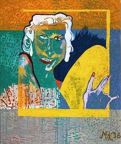 Martin Kippenberger, Eierverliebte (Infatuated Egg), 1996.  http://www.artexperiencenyc.com/social_login