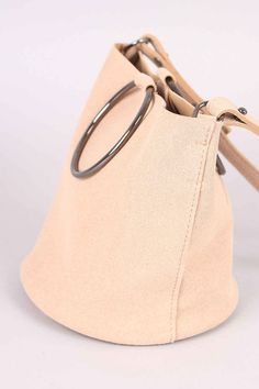 Lovely crossbody #bag features a vegan nubuck leather fabrication. Price: $32.97