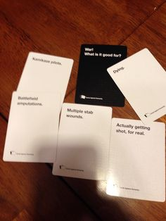 Cards against humanity done right!!