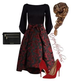 Apostolic Fashions #1725 by apostolicfashions on Polyvore featuring polyvore, fashion, style, Ralph Lauren Black Label, Chicwish, Schutz, MICHAEL Michael Kors and clothing
