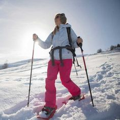 Ever tried snowshoeing? You'll burn as many calories walking at a 20-minute per mile pace as you will running a 10-minute mile.