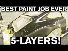 This is the and final episode of the AMMO Porsche 964 build. This video will show you the step by step process of a concours paint job and how this will . Car Paint Jobs, Custom Paint Jobs, Custom Cars, 1st Gen 4runner, Auto Body Work, Classic Car Restoration, Auto Body Repair, Car Painting, Spray Painting
