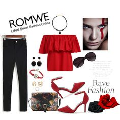 Featuring Button Slim Denim Pant from ROMWE: http://www.romwe.com/With-Button-Slim-Denim-Pant-p-112629-cat-681.html? All items shown from ROMWE: http://www.romw...
