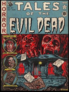 Horror Icons, Horror Movie Posters, Movie Poster Art, Ec Comics, Horror Comics, Rick And Morty Poster, Horror Photography, Horror Artwork, Horror Monsters