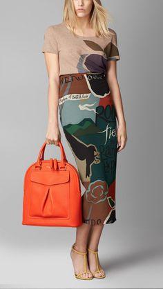 Сумка Bloomsbury средних размеров с декоративным карманом | Burberry