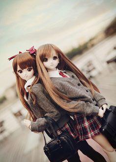 After school Dollfie dream dolls